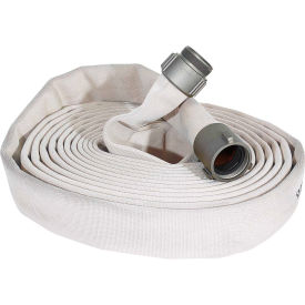 "armored textiles n51h3lnw50n jafline double jacket fire hose, 3"" x 50 ft, 400 psi, white Armored Textiles N51H3LNW50N JAFLINE Double Jacket Fire Hose, 3"" X 50 Ft, 400 PSI, White"