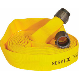"armored textiles n51h3lny50n jafline double jacket fire hose, 3"" x 50 ft, 400 psi, yellow Armored Textiles N51H3LNY50N JAFLINE Double Jacket Fire Hose, 3"" X 50 Ft, 400 PSI, Yellow"