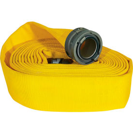 "armored textiles n51h5lny100s jafline double jacket fire hose, 5"" x 100 ft, 300 psi, yellow Armored Textiles N51H5LNY100S JAFLINE Double Jacket Fire Hose, 5"" X 100 Ft, 300 PSI, Yellow"