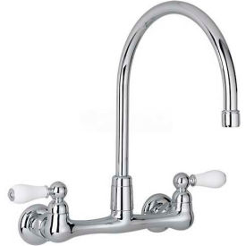 "7293.252.002 American Standard; Heritage Wall Mount Kitchen Faucet, 7293.252.002, 2.2 GPM, 12-1/2""H, Chrome"