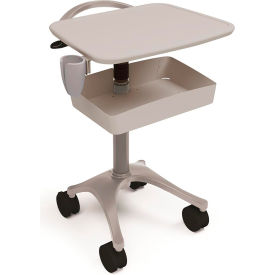 ergotron® zido® ultrasound medical cart, cool gray Ergotron® Zido® Ultrasound Medical Cart, Cool Gray