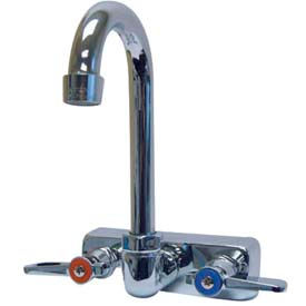 "3-1/2"" Splash Mounted Replacement Gooseneck Faucet"