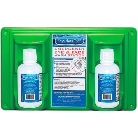 24-102 Physicians Care, 16 oz. Double Bottle Eyewash Station, 24-102