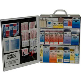 6155 Pac-Kit; 3-Shelf Industrial First Aid Station