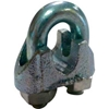 "MWRC125P6 Advantage Malleable Steel Zinc Plated Wire Rope Clip MWRC125P6 - 1/8"" Diameter"