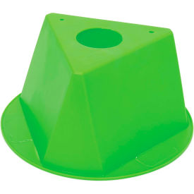 055LIME Inventory Cone Lime 3-Sided