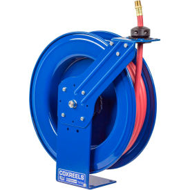 "SH-N-550 Coxreels SH-N-550 3/4""x50 300 PSI Heavy Duty Spring Retractable Low Pressure Hose Reel"