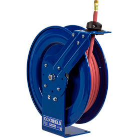 "P-LP-425 Coxreels P-LP-425 1/2""x25 300 PSI Spring Retractable Low Pressure Steel Hose Reel"