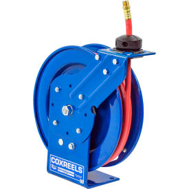 "P-LP-135 Coxreels P-LP-135 1/4""x35 300 PSI Spring Retractable Low Pressure Steel Hose Reel"