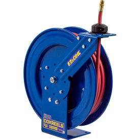 "EZ-P-LP-325 Coxreels EZ-P-LP-325 3/8""x25 300 PSI EZ-Coil; Safety Series Spring Retractable Hose Reel"