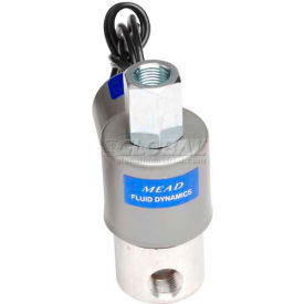 "bimba-mead air valve solenoid mb12-3usc-24vac, 1/8"" nptf, 3 port, 2 pos, normally clsd/open, 24vac Bimba-Mead Air Valve Solenoid MB12-3USC-24VAC, 1/8"" NPTF, 3 Port, 2 Pos, Normally Clsd/Open, 24VAC"