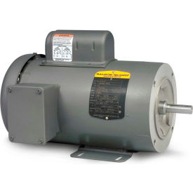 CL3503 Baldor-Reliance Motor CL3503, .5HP, 3450RPM, 1PH, 60HZ, 56C, 3413L, TEFC, F1