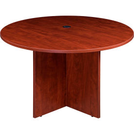 "N123GI-C 47"" Round Conference Table - Cherry"