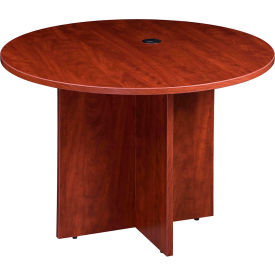 "N127GI-C 42"" Round Conference Table - Cherry"