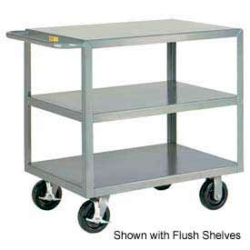 3GL-3060-6PHBK Little Giant; HD Welded Shelf Truck 3GL-3060-6PHBK, 3 Lip Shelves, 30 x 60