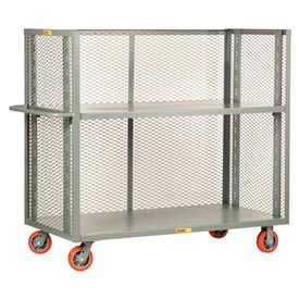 T2-A-3048-6PY Little Giant; 3-Sided Adjustable Truck T2-A-3048-6PY, Mesh Sides, 30 x 48