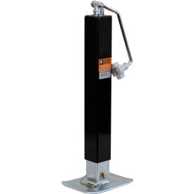 "Buyers Products 0091310 2-1/2"" Topwind Square Jack Drop Leg - 26"" Travel"