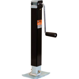"Buyers Products 0091340 2-1/2"" Sidewind Square Jack Drop Leg - 26"" Travel"