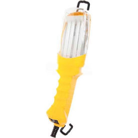 SL-908 Bayco; Professional Double-Brite Fluorescent Work Light & Tool Tap Sl-908, 26W, Yellow