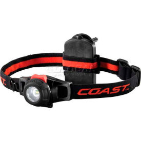 19268 Coast; 19268 HL6 Dimmable LED Headlamp in Box - Black