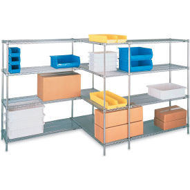 "5463900 Metro Open-Wire Shelving - 60x18x74"" - Add-On Units"