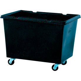 "145AR-C-BLK Recycled Material Handling Carts - Smooth Walls, Plywood Base - 31""Wx43""Dx33""H"