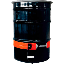 ECONO30-1 Briskheat Indoor/Outdoor Drum Heaters - For Steel Drums - Fits 30-Gallon Drums - 6.2 Amps