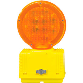 Cortina Solar Barricade Light, Yellow Body, Amber Lens, 03-10-SBLG, Price Per Each