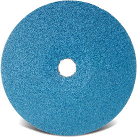 "48120 CGW Abrasives 48120 Resin Fibre Disc 7"" DIA 16 Grit Zirconia"