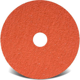 "48186 CGW Abrasives 48186 Resin Fibre Disc 4-1/2"" DIA 80 Grit Ceramic"
