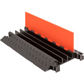 GD3X225-O/B Guard Dog; 3 CH Cable Protector - Orange Lid/Black Base