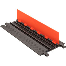 GD3X75-ST-O/B Guard Dog; Low Profile, 3 CH - Orange Lid/Black Base