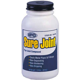 Sure Joint™ Pipe Joint Sealant, Grey- Non-Hardening, 1/2 Pt.