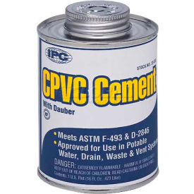 Low V.O.C. Cpvc Cement™, For Pipe & Fittings, 1/4 Pt.
