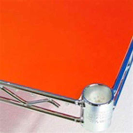 PVC Shelf Liners 21 x 24, Orange (2 Pack)