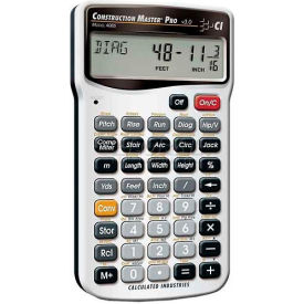 4065 Construction Master Pro - Advanced Construction-Math Feet-Inch-Fraction and Metric Calculator