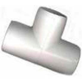 "tee fitting, 2""dia., furniture grade pvc, white Tee Fitting, 2""Dia., Furniture Grade Pvc, White"