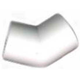 "45 ° fittings, 2""dia., furniture grade pvc, white 45 ° Fittings, 2""Dia., Furniture Grade Pvc, White"