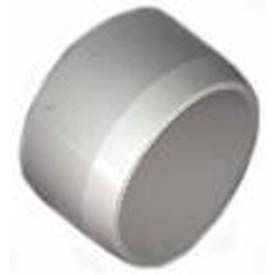 "cap (flat top) fittings, 1/2""dia., furniture grade pvc, white Cap (Flat Top) Fittings, 1/2""Dia., Furniture Grade Pvc, White"