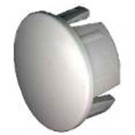 "internal cap fittings, 1""dia., furniture grade pvc, white Internal Cap Fittings, 1""Dia., Furniture Grade Pvc, White"