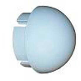 "ball cap fittings, 1-1/4""dia., furniture grade pvc, white Ball Cap Fittings, 1-1/4""Dia., Furniture Grade Pvc, White"