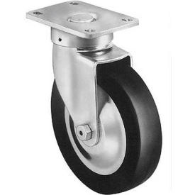 "darnell-rose 60 series swivel plate caster with brake 600447 polyurethane 3"" dia. 400 lb. cap. Darnell-Rose 60 Series Swivel Plate Caster With Brake 600447 Polyurethane 3"" Dia. 400 Lb. Cap."