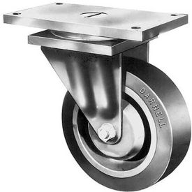 "darnell-rose 4500 series swivel plate caster 709182 cast iron 8"" dia. 5000 lb. cap. Darnell-Rose 4500 Series Swivel Plate Caster 709182 Cast Iron 8"" Dia. 5000 Lb. Cap."
