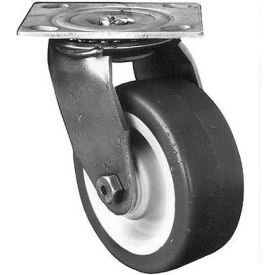"darnell-rose a100 stainless series swivel plate caster 710979 polyurethane 5"" dia. 850 lb. cap. Darnell-Rose A100 Stainless Series Swivel Plate Caster 710979 Polyurethane 5"" Dia. 850 Lb. Cap."