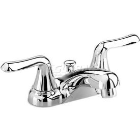 2275505.002 American Standard 2275505.002 Soft Colony Centerset Lavatory Faucet, Two Lever Handles
