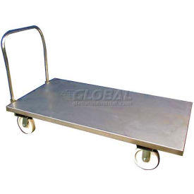 TK101011 DC Tech Stainless Steel Platform Truck with Handle TK101011
