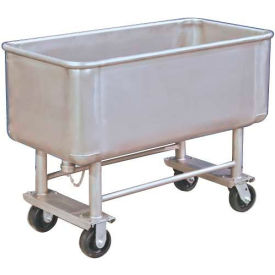 TKS05003 DC Tech Elevated Deck Stainless Steel Bulk Truck TKS05003 500 Lb. Capacity