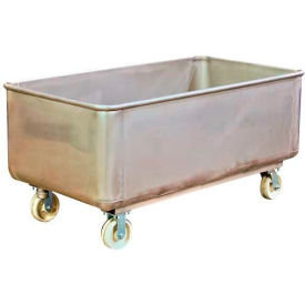 TKS11001 DC Tech Stainless Steel Bulk Truck with Drain and Cap TKS11001 1100 Lb. Capacity