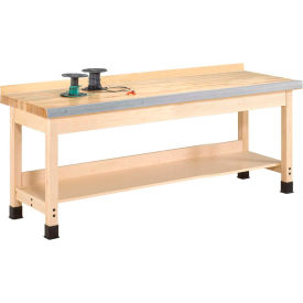 "diversified woodcrafts 96""w x 24""d woodworking bench, maple Diversified Woodcrafts 96""W x 24""D Woodworking Bench, Maple"