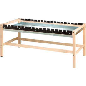 side clamp glue bench w/ drip pan Side Clamp Glue Bench W/ Drip Pan